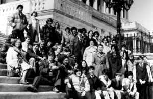 1978 Science Talent Search finalists at the Capitol. STS. Westinghouse.