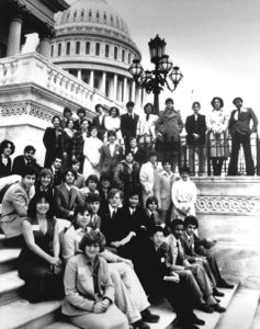 1979 Science Talent Search Finalists at the Capitol. Westinghouse STS.