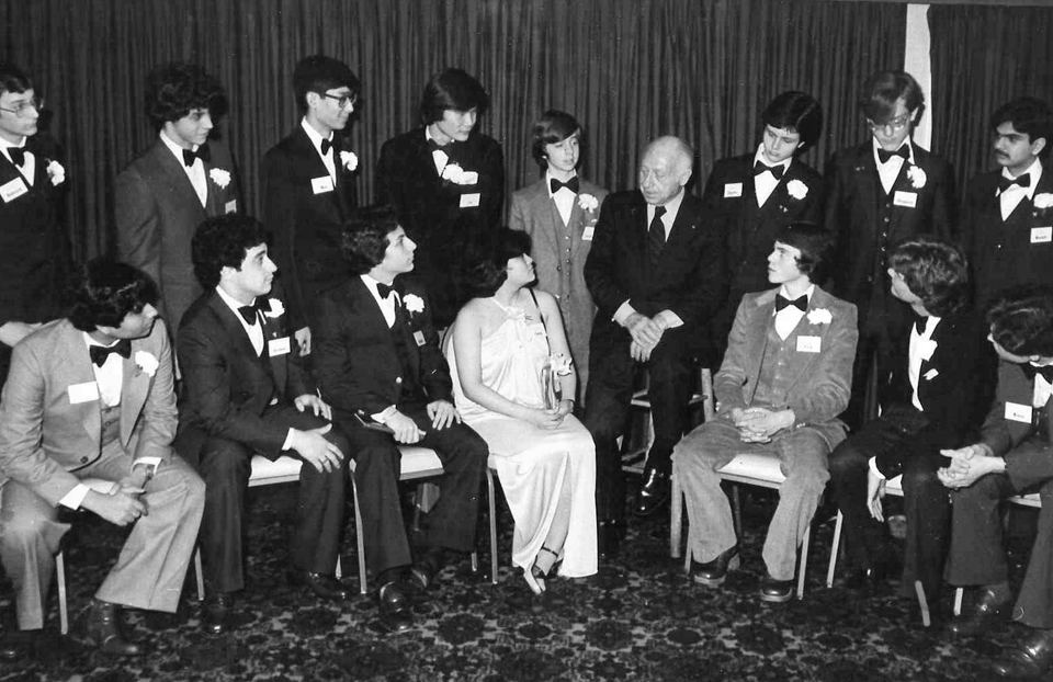 1979 Science Talent Search Finalists - Top Ten. Westinghouse STS.