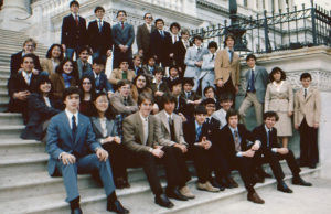 1981 Science Talent Search Finalists at the Capitol. Westinghouse STS.