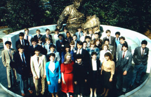 1985 Science Talent Search Finalists. Westinghouse STS.