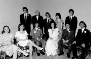 1986 Science Talent Search Finalists - Top Ten. Westinghouse STS.