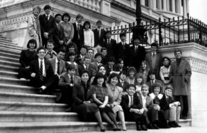 1987 Science Talent Search Finalists at the Capitol. Westinghouse STS.