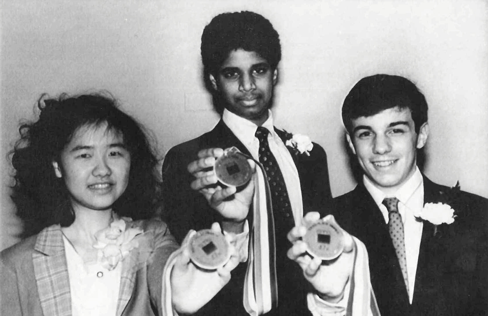 1988 Science Talent Search Finalists - Top 3. Westinghouse STS.