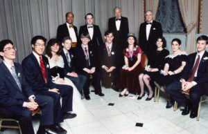 1992 Science Talent Search Top Ten winners. STS. Westinghouse.