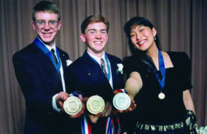 1994 Science Talent Search Top Three winners. STS.
