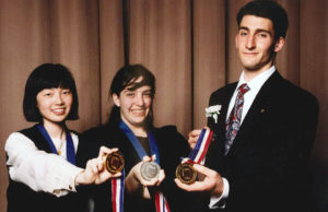 1995 Science Talent Search Top Three Winners. STS. Westinghouse.