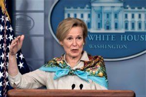 Deborah Birx, 1973 ISEF alumna, is the White House Coronavirus Task Force Coordinator