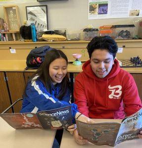 Science News in High Schools resources help Jennifer's students meet literacy and STEM standards.