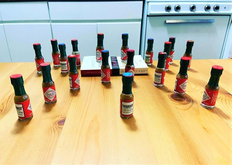 Spice bottles Sammi Cannold
