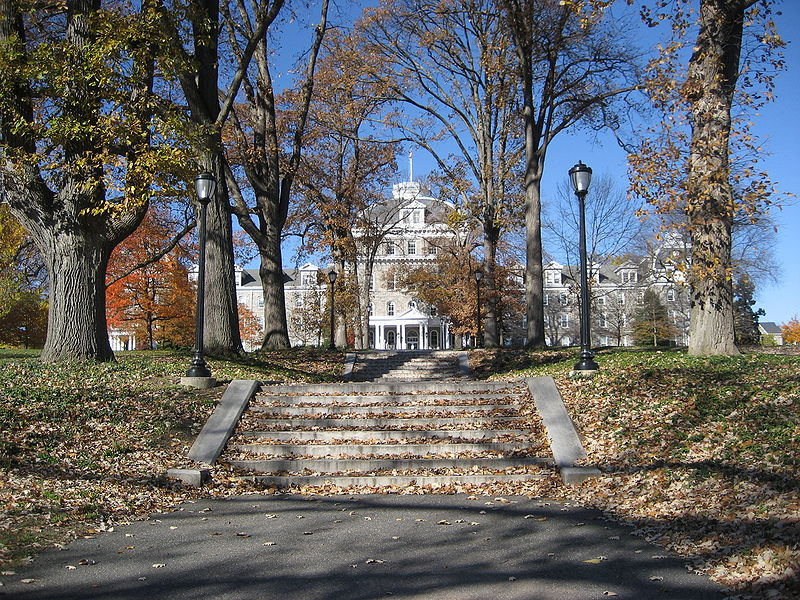 Swarthmore's Parrish Hall