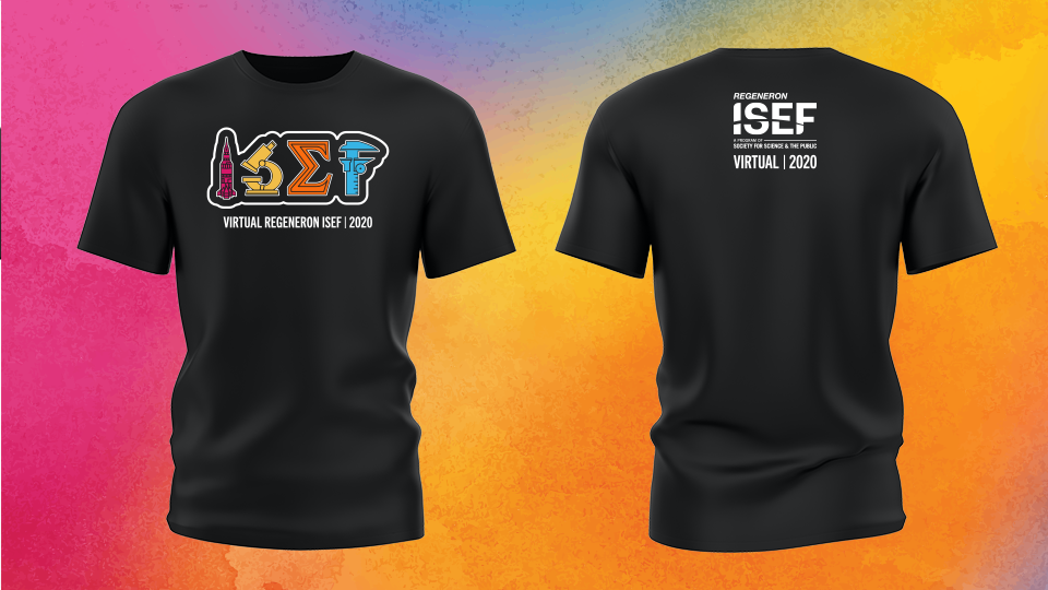Limited Edition 2020 Virtual Regeneron ISEF T-shirt