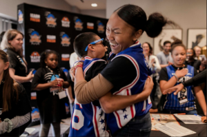 Learn Fresh Education Company will receive a $5,000 grant to fund a Family Resource Center on the program's online platform, as part of their broader initiative to implement NBA Math Hoops at home.