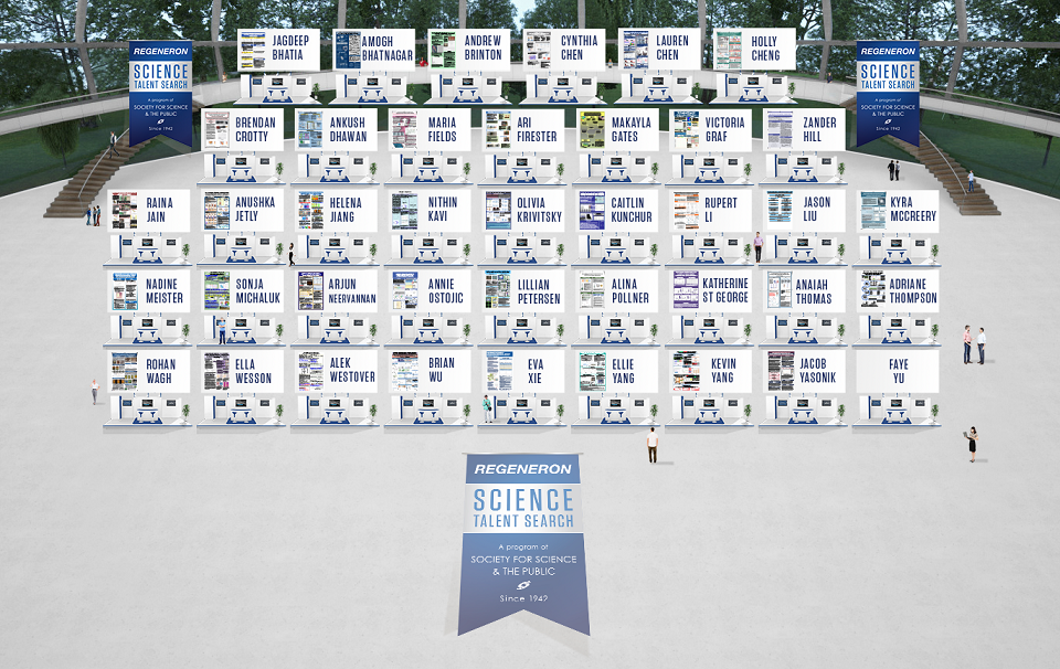 Meet the Regeneron STS 2020 finalists virtually on July 25!