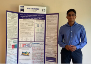 """Arjun Neervannan and his project, """"Combating Cyberbullying and Toxicity by Teaching AI to Use Linguistic Insights from Human Interactions in Social Media."""""""