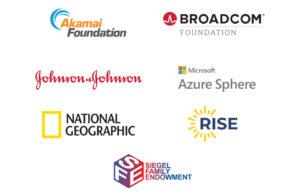 Virtual ISEF major sponsor logos
