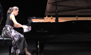 STS finalist, Nadine Meister has played piano since she was a child.