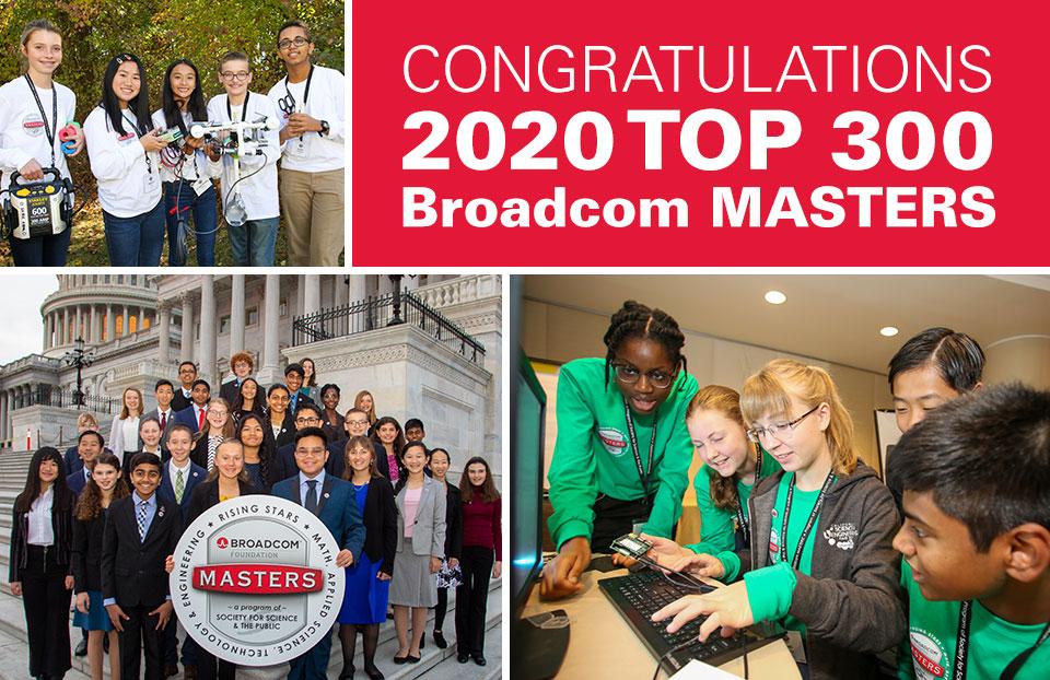 2020 Broadcom MASTERS Top 300