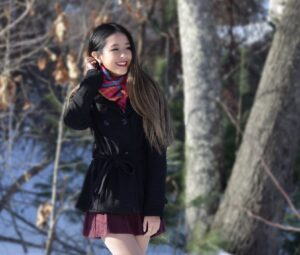 Mary Zhu, Society alum
