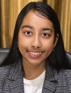 2020 Broadcom MASTERS Finalist Anika Pallapothu