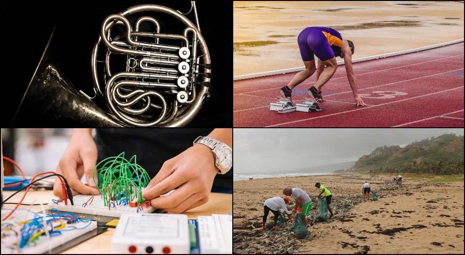 This year's top 300 Broadcom MASTERS have many interests, accomplishments and hobbies.