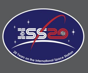 ISS 20th Logo