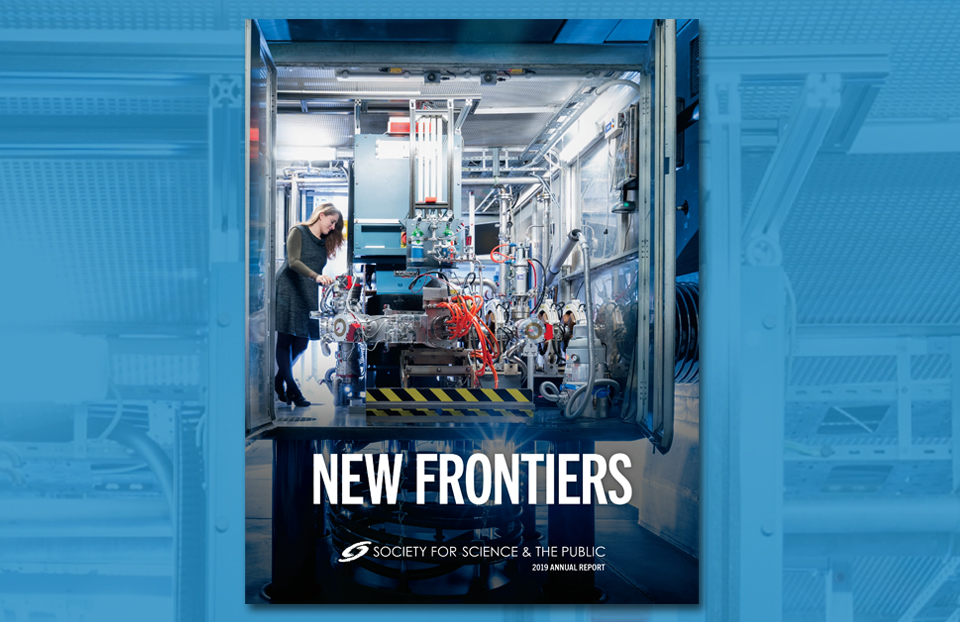 2019 Annual Report: New Frontiers