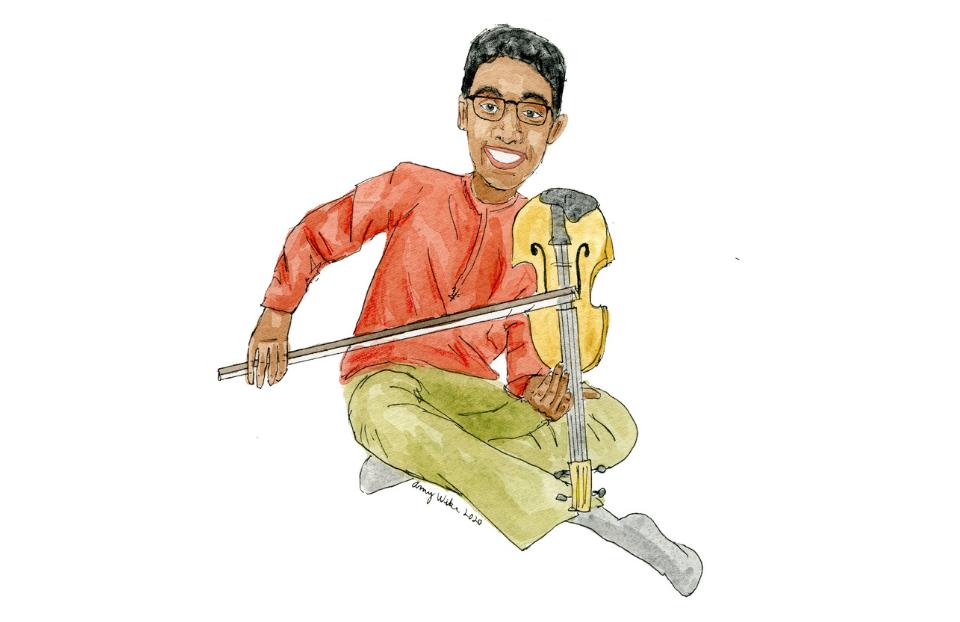 STS 2020 finalist, Arjun Neervanan