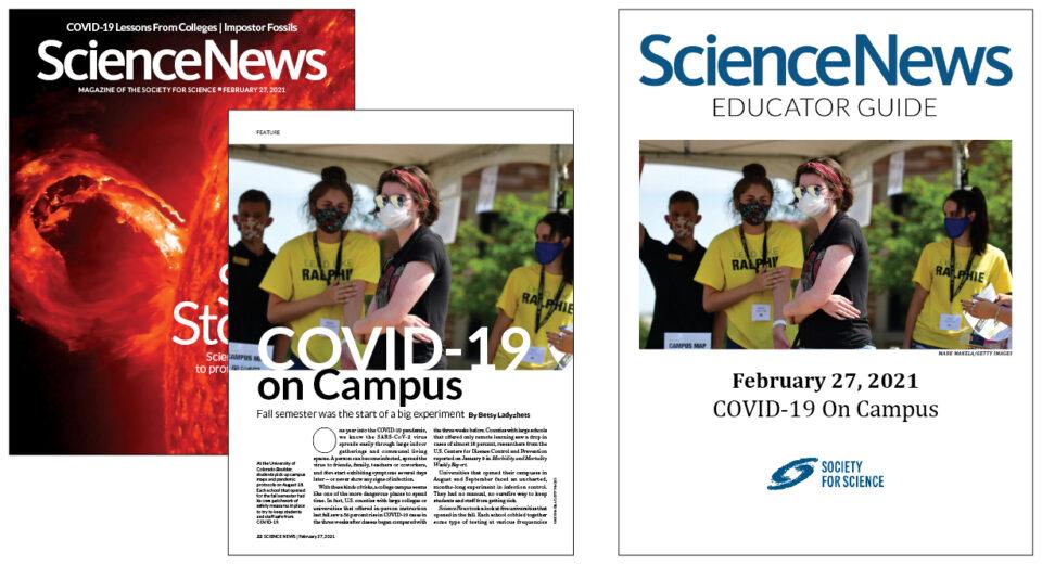 SNHS Covid On Campus Header