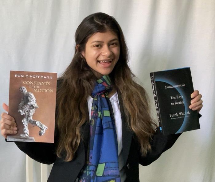 Regeneron STS 2021 finalist Rebecca Monge