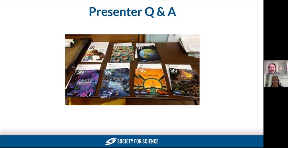 Screenshot from Jill Brian's Presentation