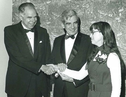 Nina Schor was the top winner in Westinghouse STS 1972.