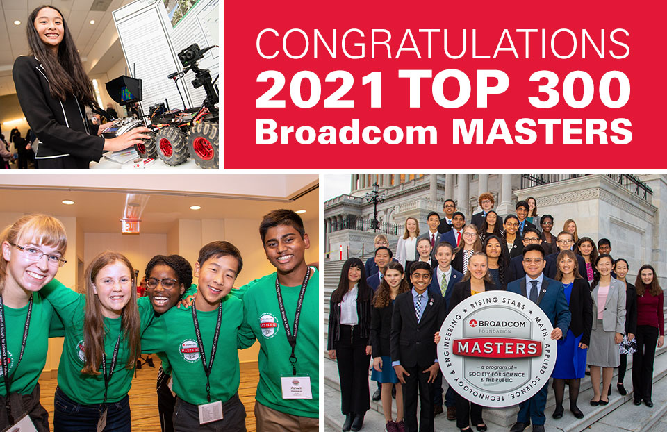 2021 Broadcom MASTERS Top 300