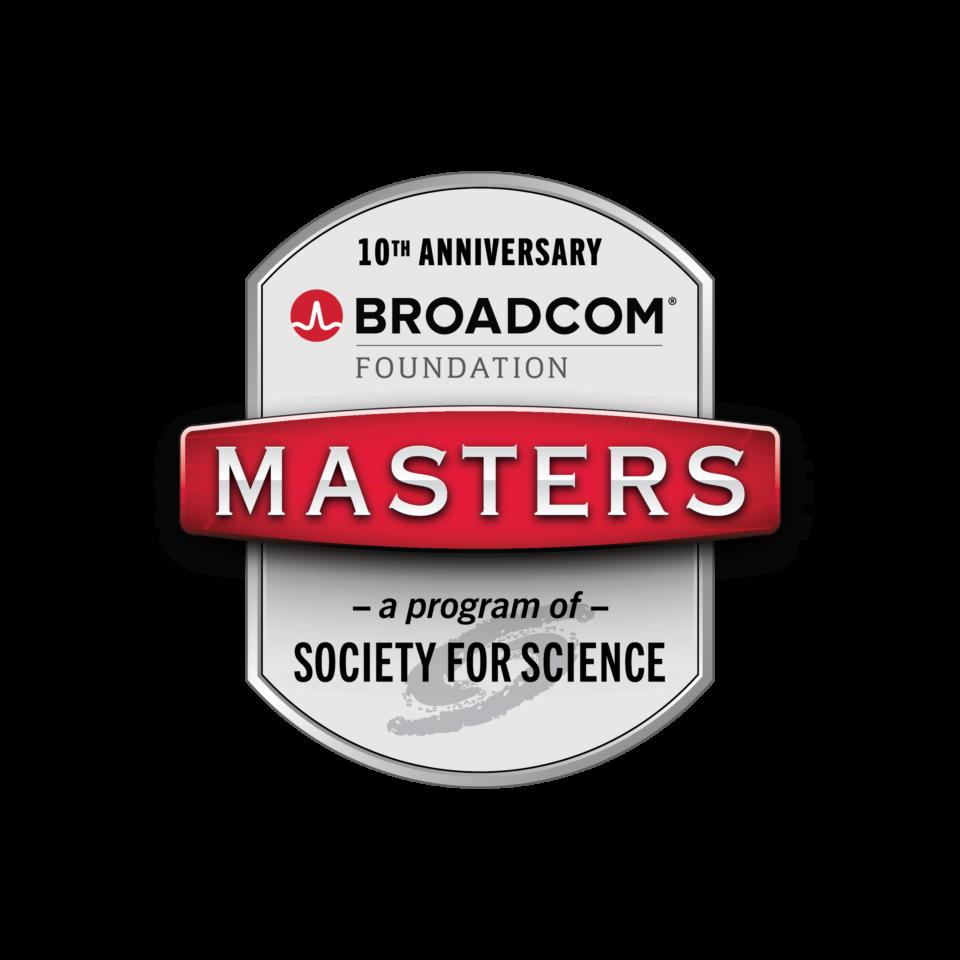 Broadcom MASTERS 10th Anniversary Logo