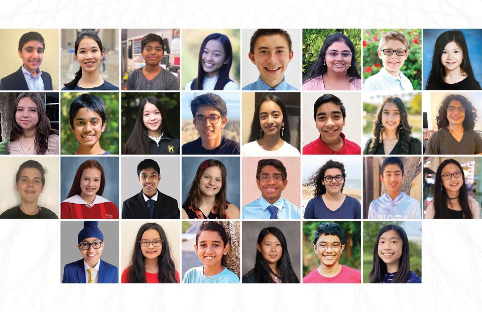 2021 Broadcom MASTERS Finalists