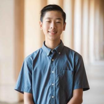 Headshot of Kyle Tianshi, Broadcom MASTERS 2019 and 2020, ISEF 2021